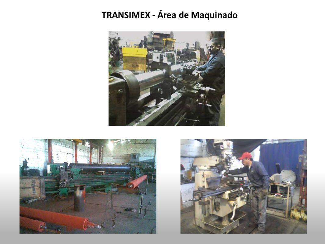 TRANSIMEX - Área de Maquinado