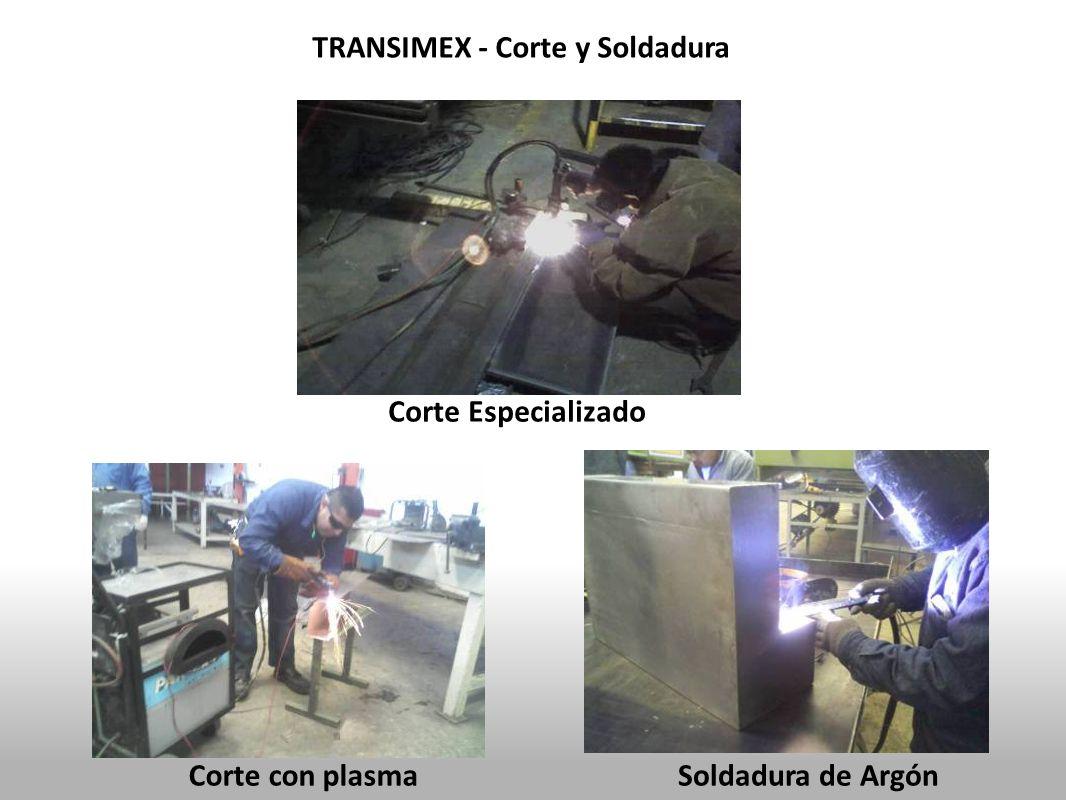 TRANSIMEX - Corte y Soldadura Corte con plasma Corte Especializado Soldadura de Argón