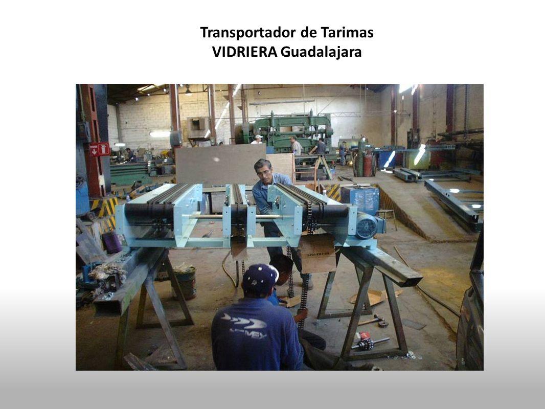 Transportador de Tarimas VIDRIERA Guadalajara