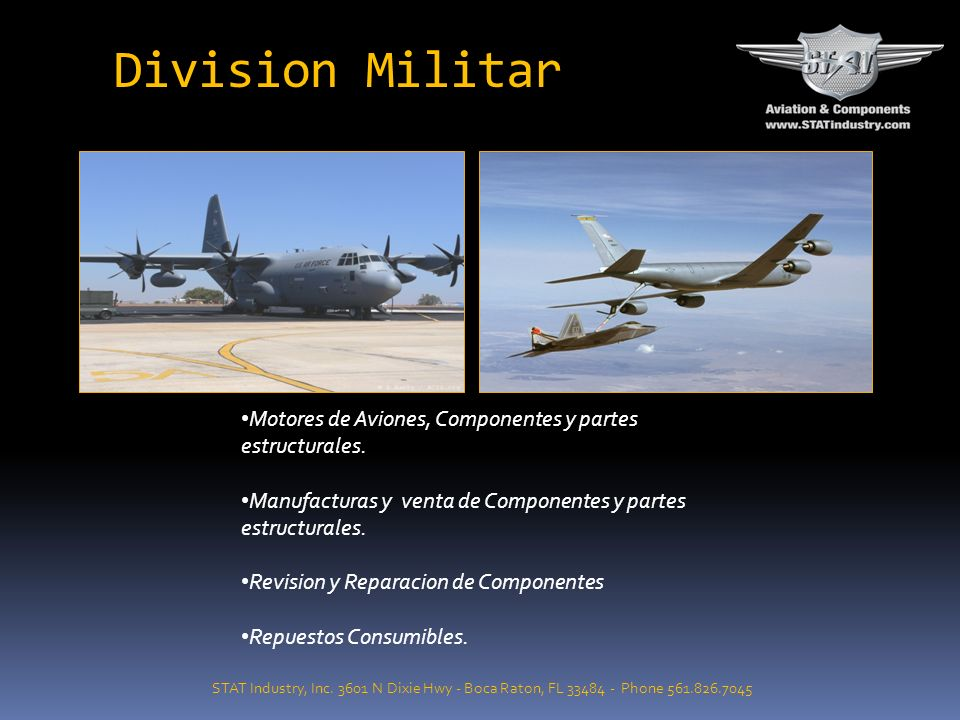 Division Militar STAT Industry, Inc.