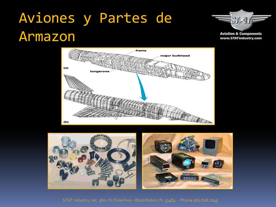 PORTAFOLIO DE MARCAS ( MOTORES, AVIONES Y PRESCINDIBLES) STAT Industry, Inc.