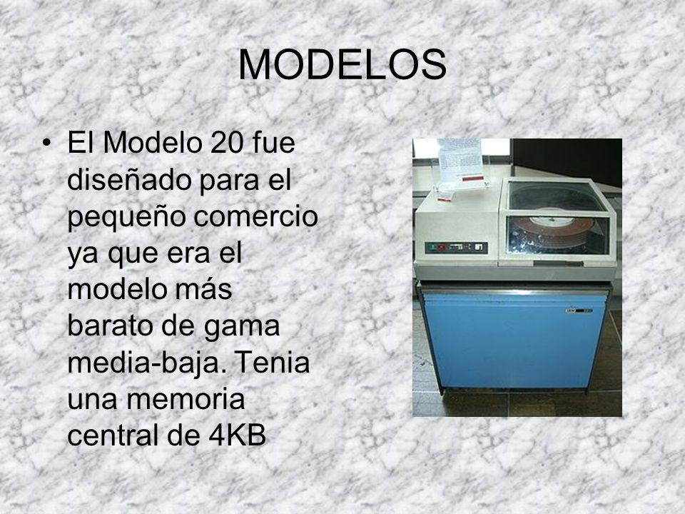 MODELOS El Modelo 44 fue una variante cuyo objetivo era el mercado científico de gama media que tenía un sistema de punto flotante pero un conjunto de instrucciones limitado
