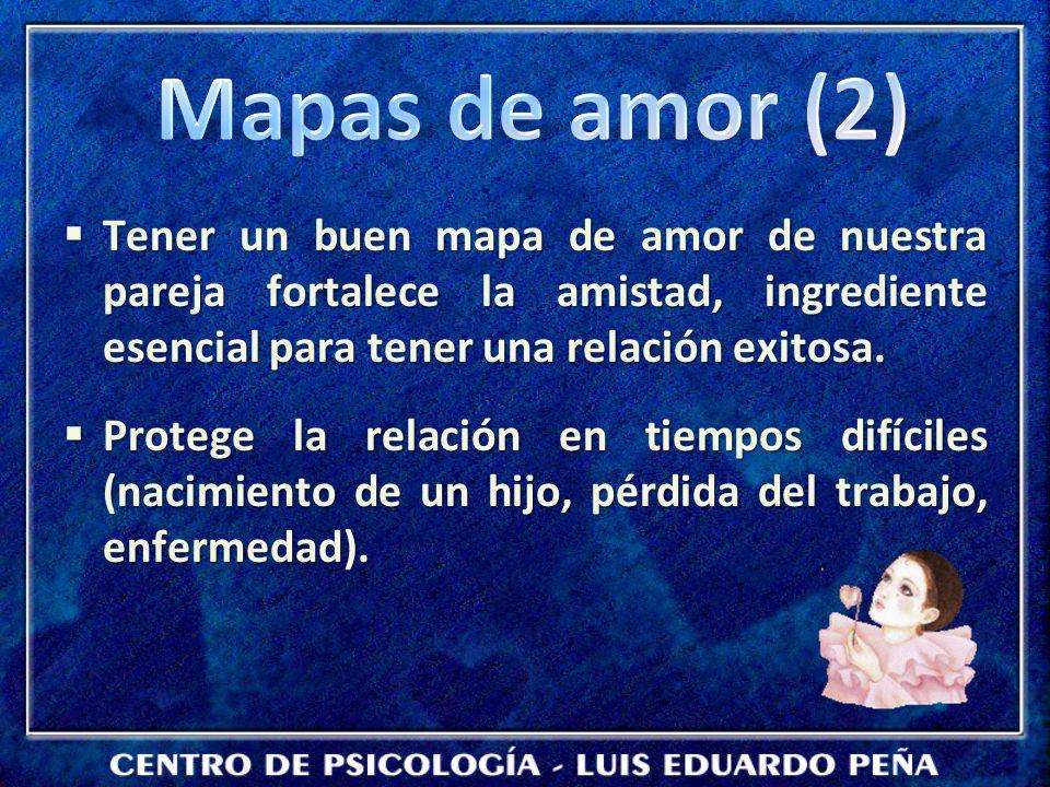 Tener un buen mapa de amor de nuestra pareja fortalece la amistad, ingrediente esencial para tener una relación exitosa. Tener un buen mapa de amor de