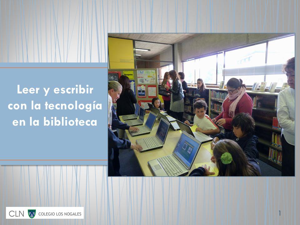 1 Leer y escribir con la tecnología en la biblioteca