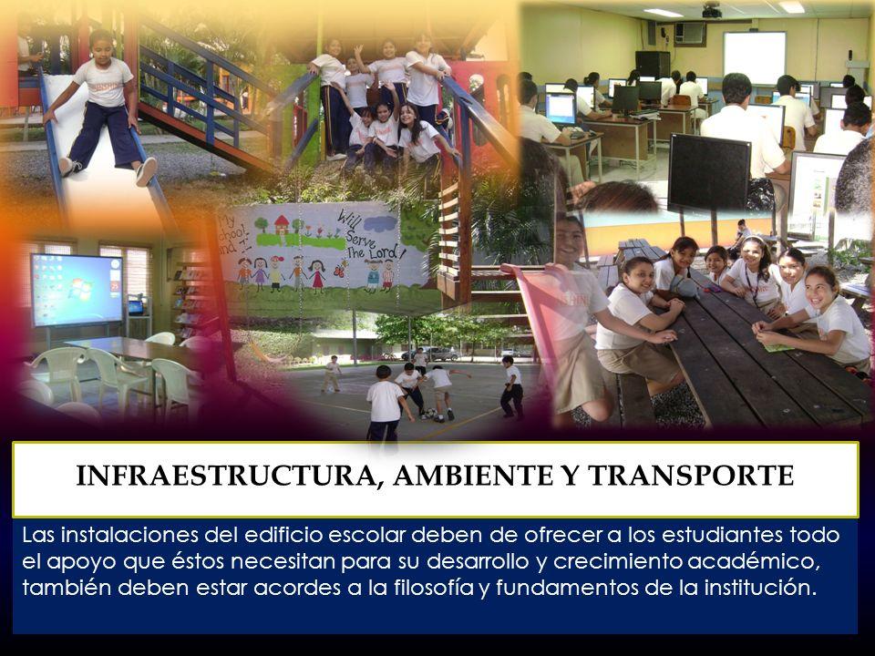 El colegio tiene la responsabilidad de la salud, seguridad y el bien general de cada estudiante y del cuerpo docente.