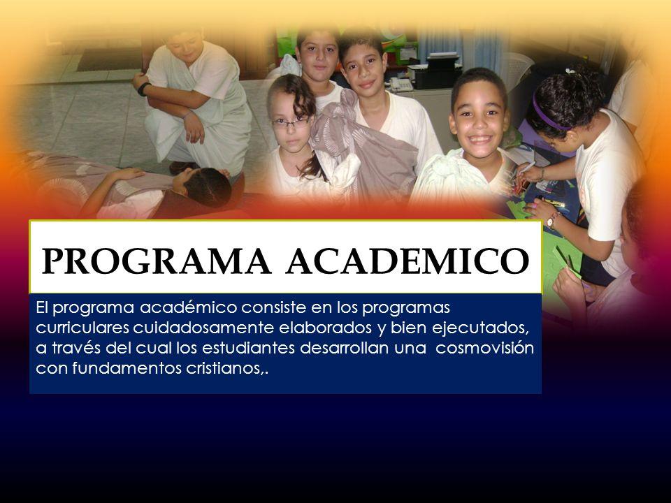 Todo el personal que labora en el colegio es cristiano, calificado, competente y dedicado a las responsabilidades asignadas y comprometidos con la filosofía y fundamentos de la institución.