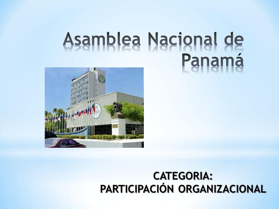 CATEGORIA: PARTICIPACIÓN ORGANIZACIONAL
