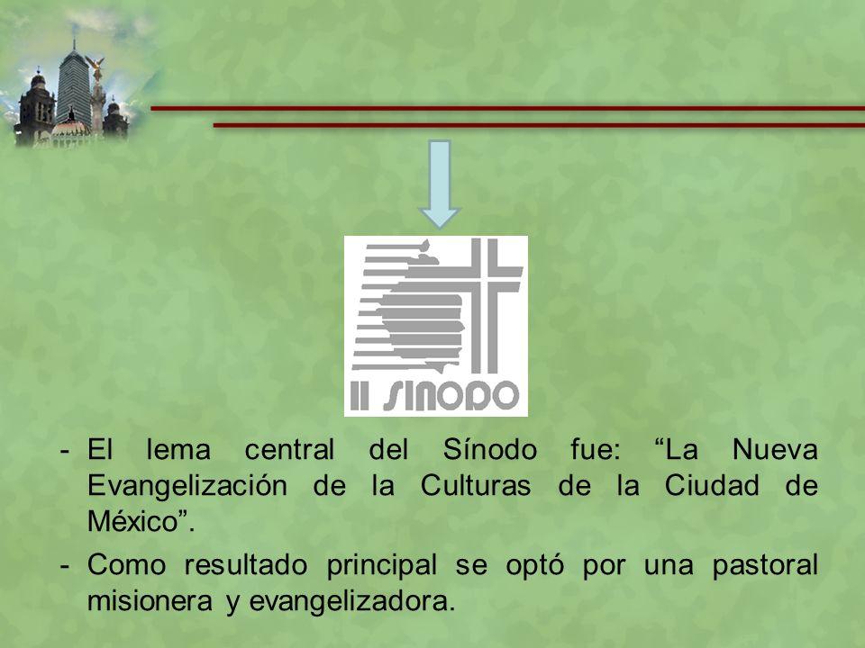 ¡Llamados a hacer presente a Jesús en la Ciudad! (OP 2009, 6) Lema