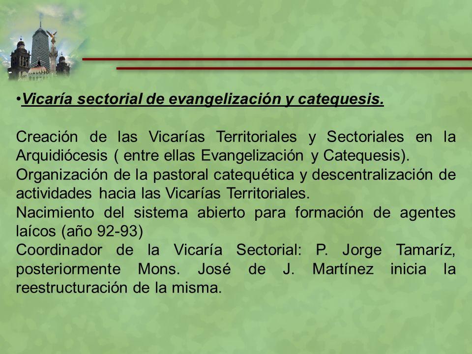 Presentar las directrices sobre la Formación Inicial y Básica a partir de las Orientaciones Pastorales 2009, para aplicarlos a la formación de los Catequistas.