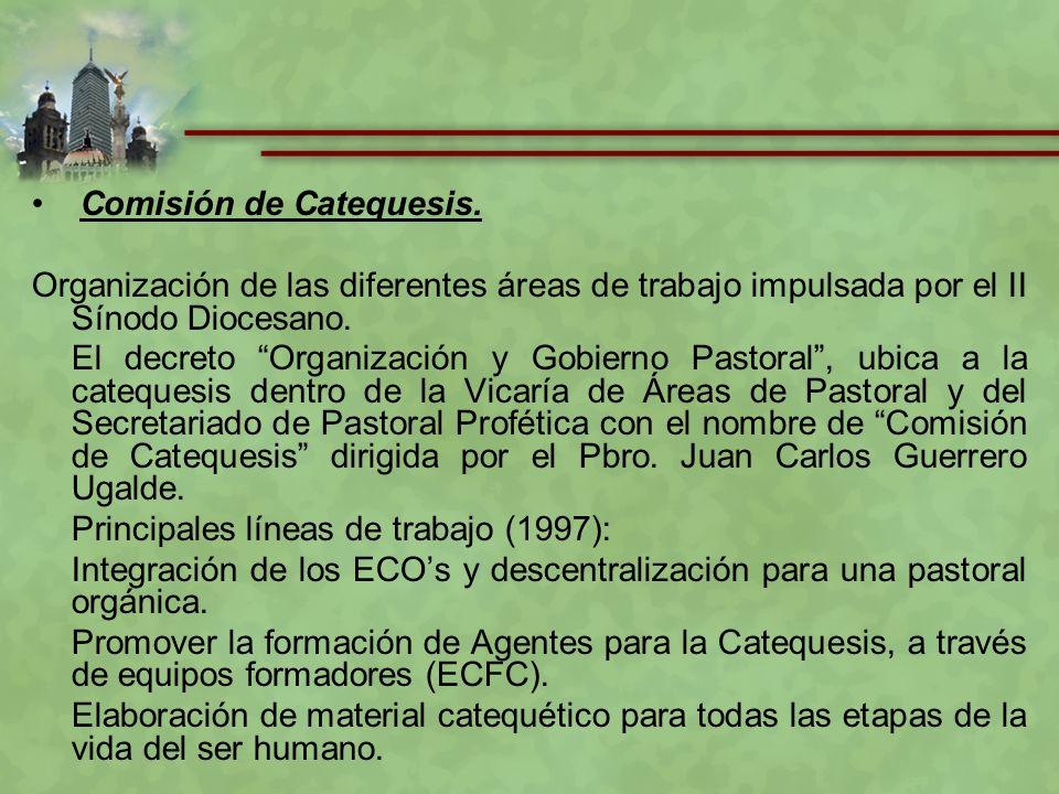 Primera Semana Arquidiocesana de Catequesis 21 – 26 de mayo de 2001