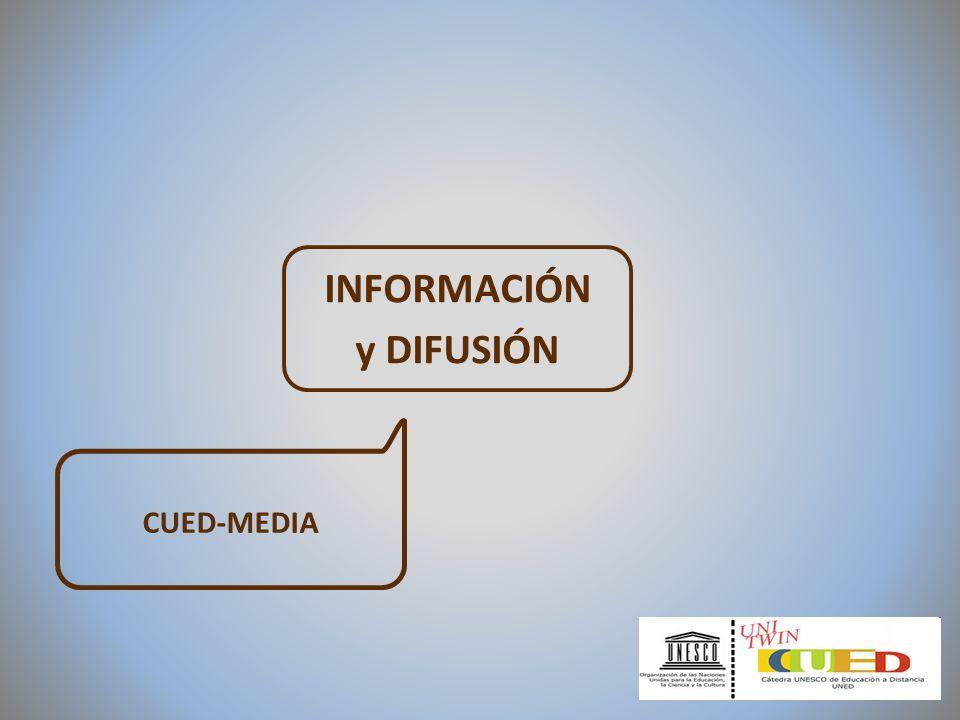INFORMACIÓN y DIFUSIÓN CUED-MEDIA