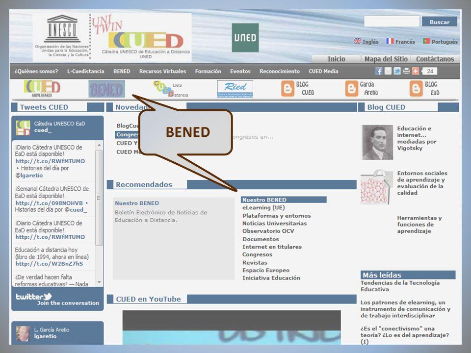 09/02/2012VI Encuentro de Cátedras UNESCO de España BENED