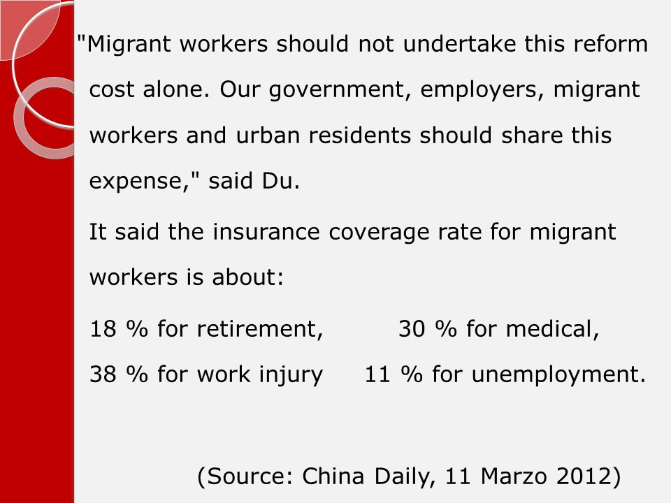 Migrant workers should not undertake this reform cost alone.