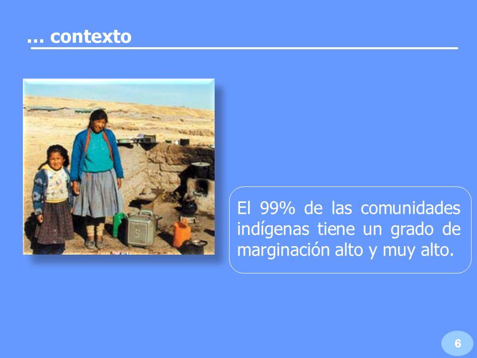 7 Las mujeres del sector agrario muestran rezago y pobreza patrimonial y de conocimiento o capacidades.