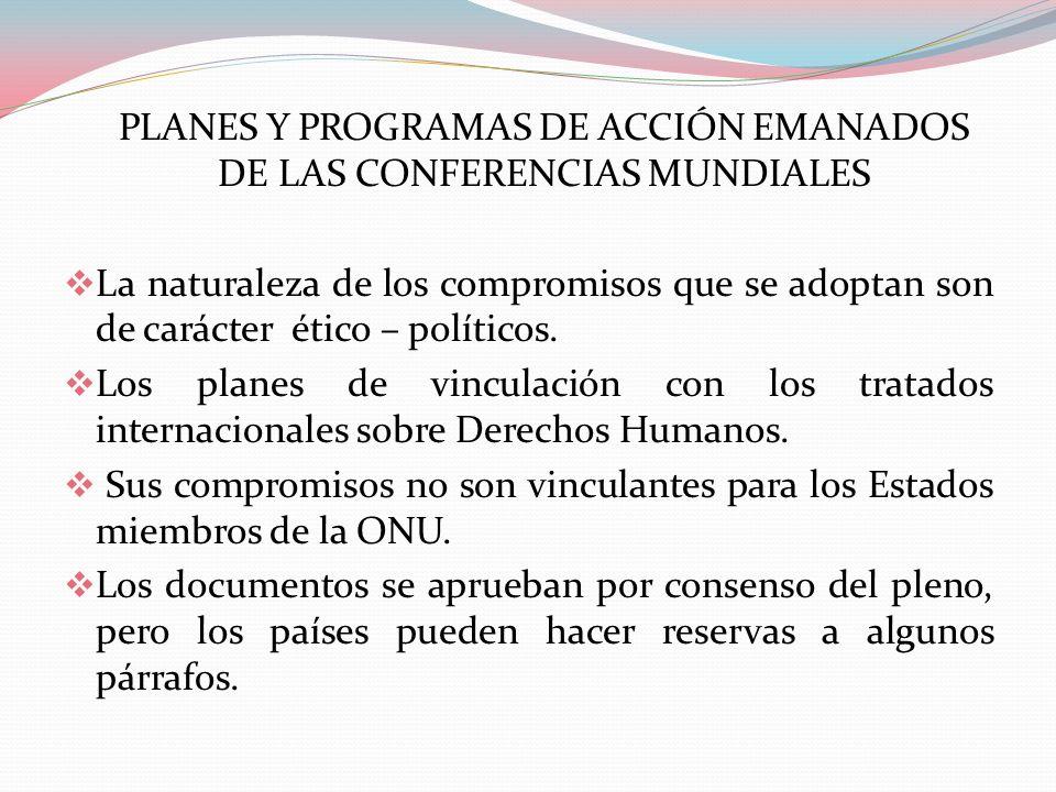 ORIGEN DE LOS COMPROMISOS INTERNACIONALES Sistema de Naciones Unidas (ONU) Sistema Interamericano (OEA)