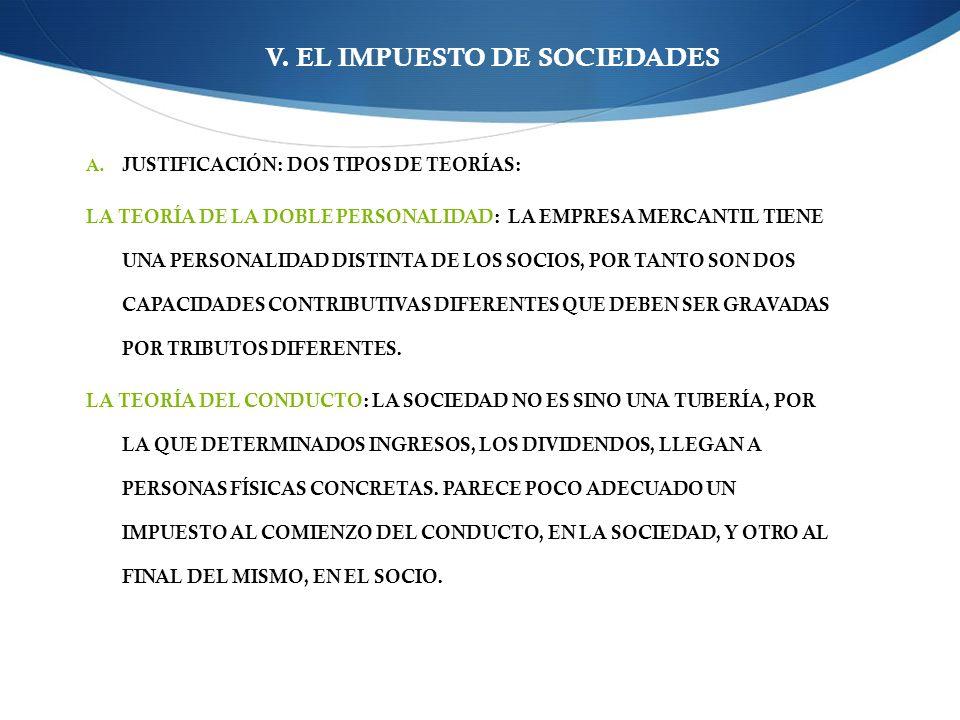 V.EL IMPUESTO DE SOCIEDADES A.