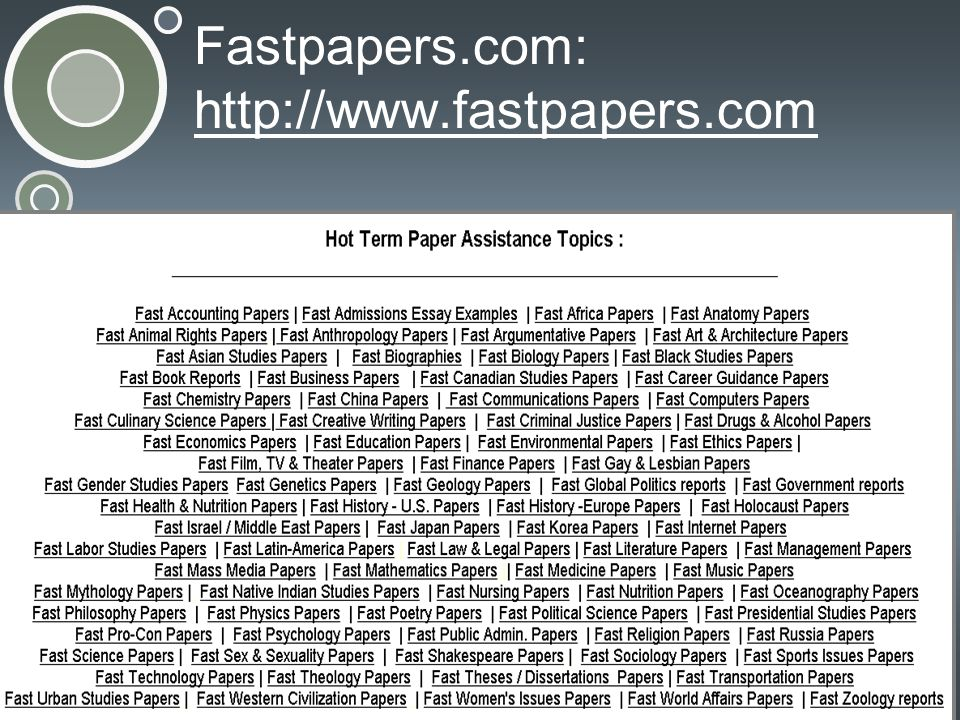 Fastpapers.com: http://www.fastpapers.com http://www.fastpapers.com