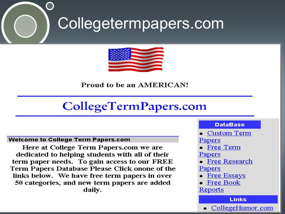 Collegetermpapers.com