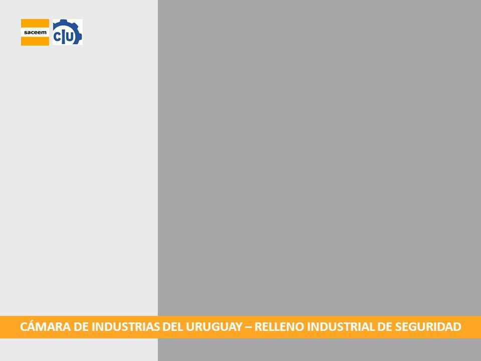 LOCALIZACIÓN El relleno industrial de seguridad se localizará en parte del padrón Nº 60.627, en la 10ª sección judicial de Montevideo.