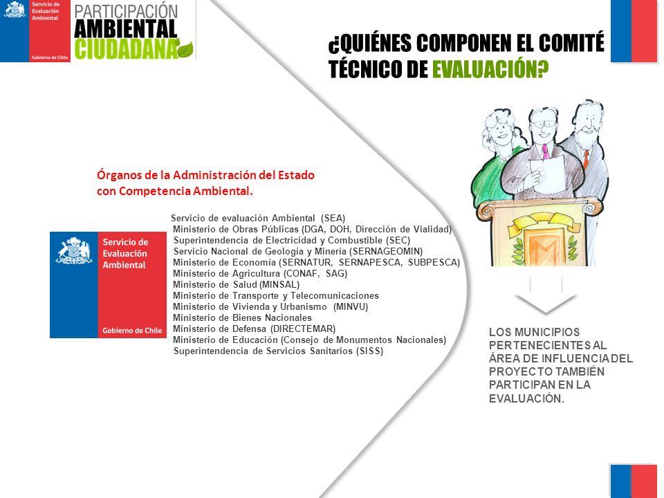 ¿QUIÉNES COMPONEN EL COMITÉ TÉCNICO DE EVALUACIÓN.