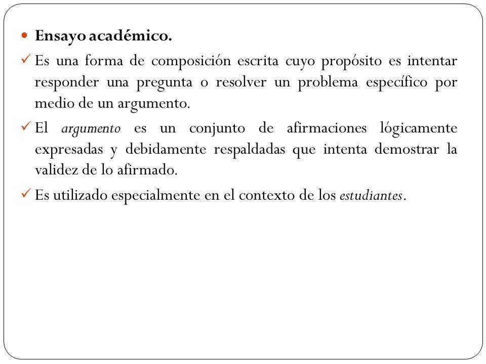TIPOS DE ENSAYO SEGÚN LA INTENCIÓN Según la intención comunicativa del autor, los ensayos se pueden clasificar en: EXPOSITIVOS ARGUMENTATIVOS CRÍTICOS POÉTICOS