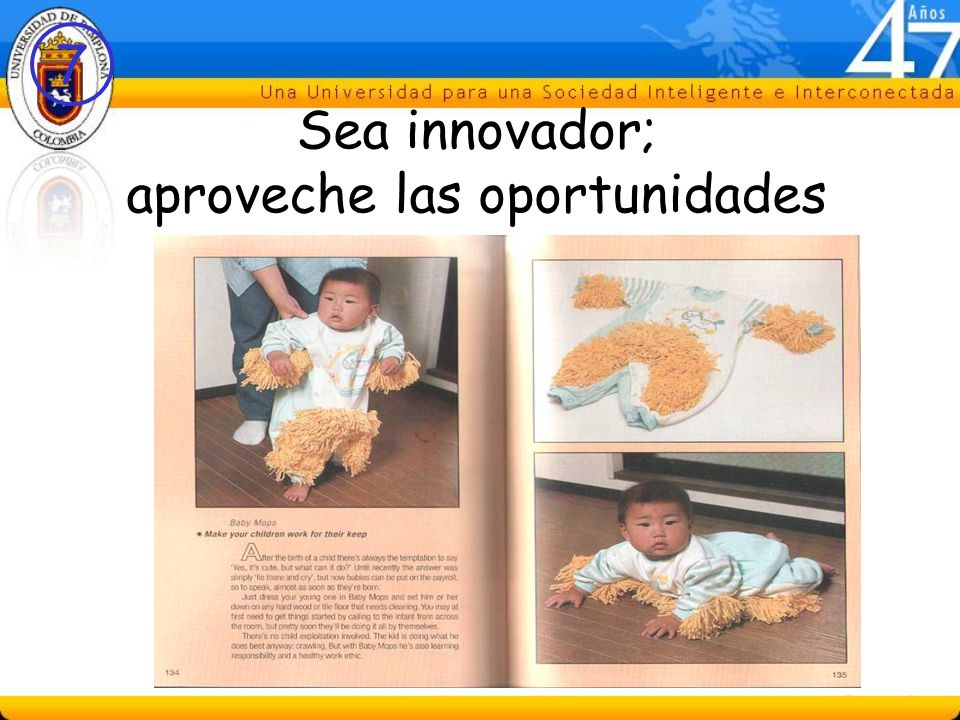 7 Sea innovador; aproveche las oportunidades
