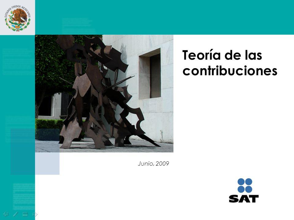 Teoría de las contribuciones Junio, 2009