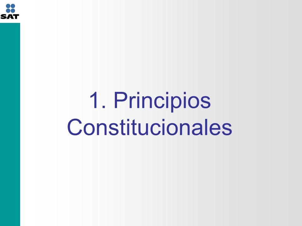 Son obligaciones de los mexicanos: … Contribuir para los gastos públicos, así de la Federación, como del Distrito Federal, del Estado y Municipio en que residan, de la manera proporcional y equitativa que dispongan las leyes.