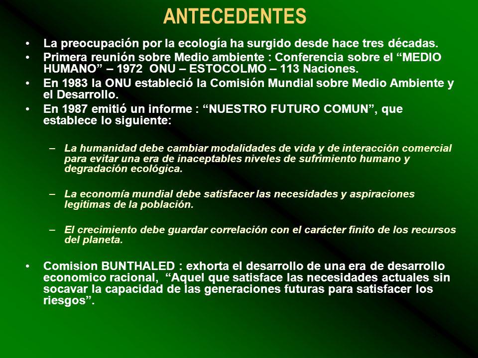 2 COMISIÓN DE ASUNTOS AMBIENTALES PLAN DE TRABAJO ANTECEDENTES I.MARCO GENERAL II.VISION III. MISION IV.OBJETIVOS 4.1. Objetivos Generales 4.2.. Objet