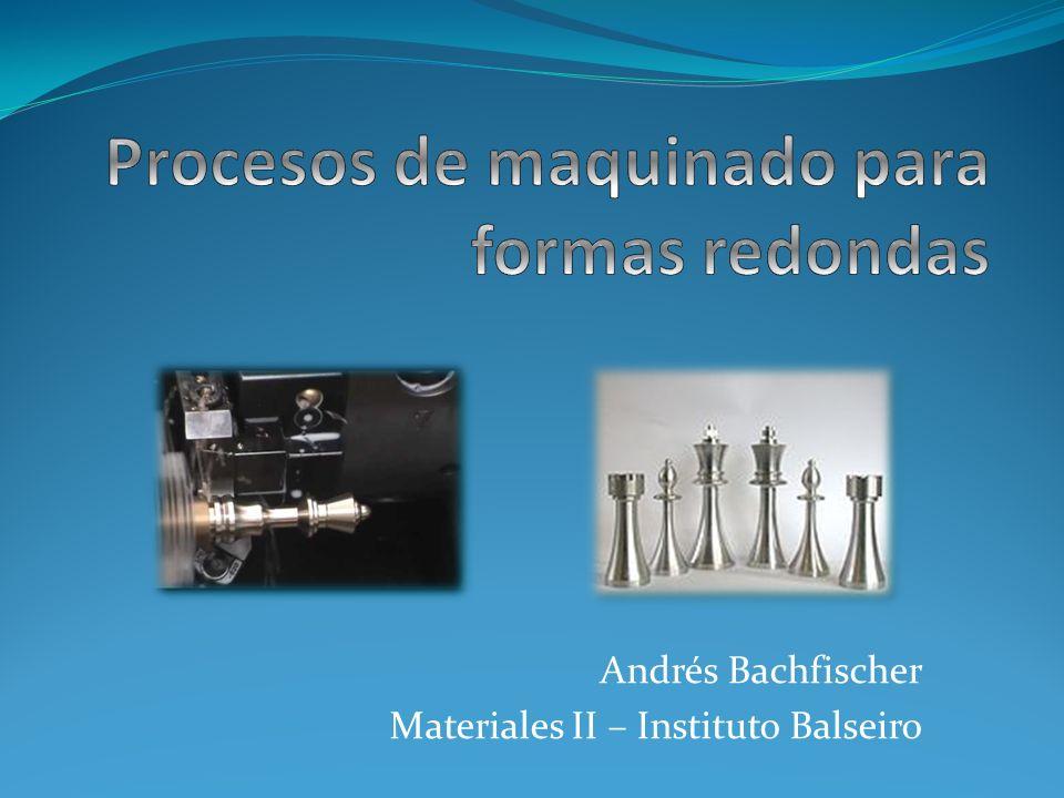 Andrés Bachfischer Materiales II – Instituto Balseiro