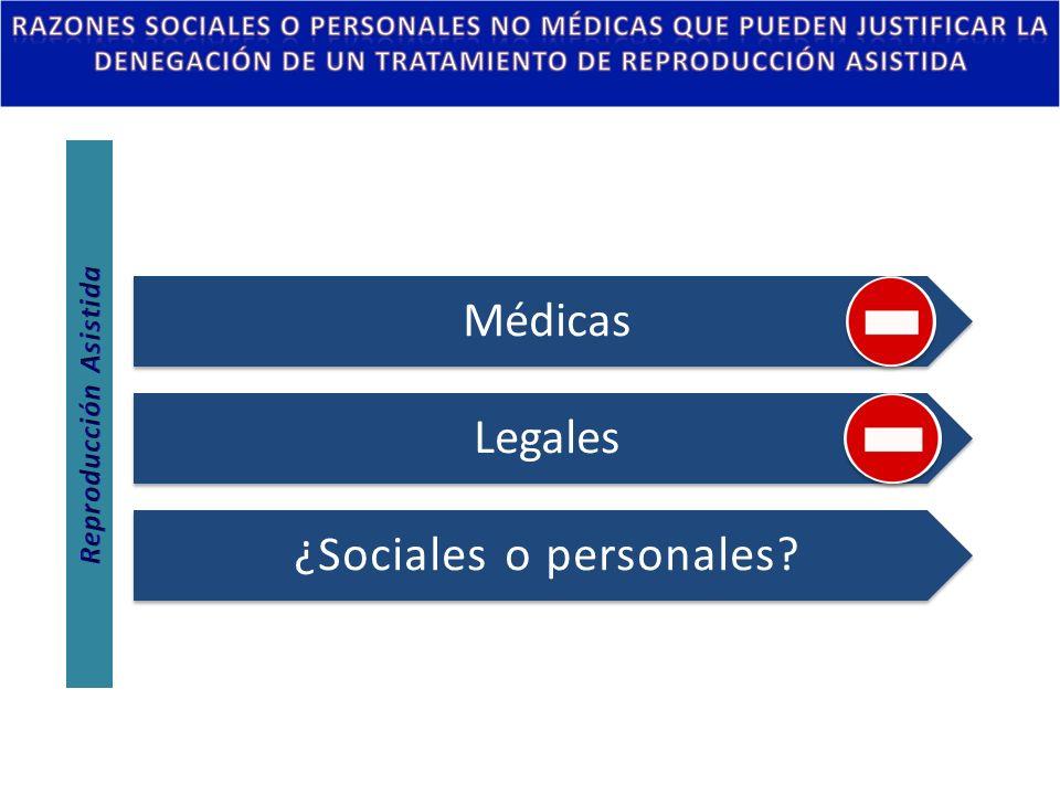Médicas Legales ¿Sociales o personales?