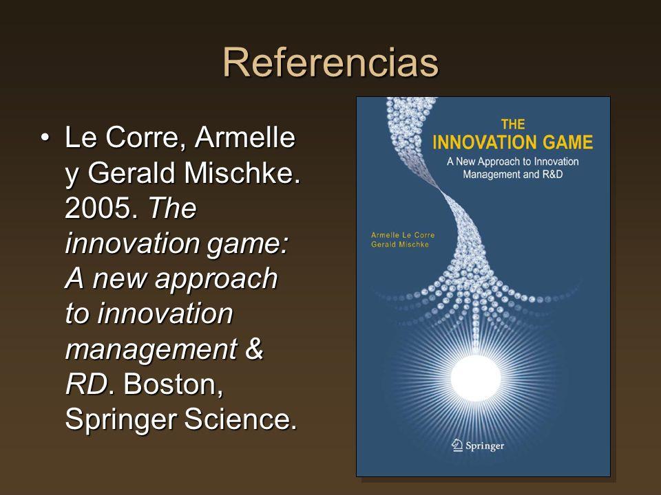 Referencias Le Corre, Armelle y Gerald Mischke.2005.
