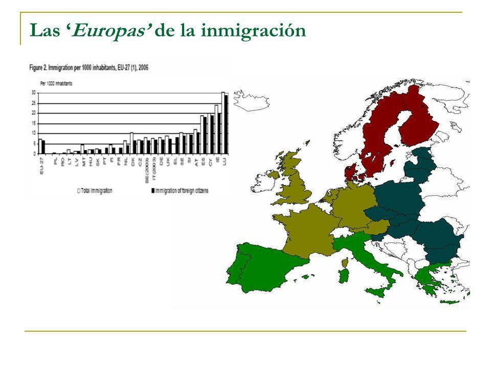 Las Europas de la inmigración