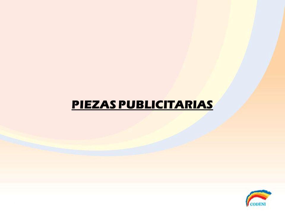 PIEZAS PUBLICITARIAS