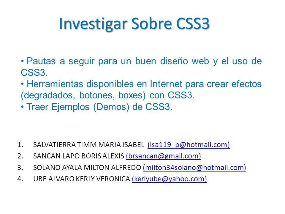 1.SALVATIERRA TIMM MARIA ISABEL (isa119_p@hotmail.com)(isa119_p@hotmail.com) 2.SANCAN LAPO BORIS ALEXIS (brsancan@gmail.com)(brsancan@gmail.com) 3.SOL