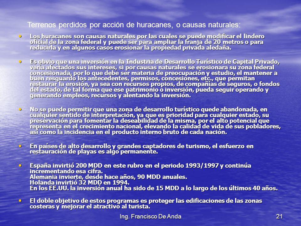 Ing. Francisco De Anda20 El puerto artificial de Altamira, Tamaulipas, México, como muestra de reconvertir propiedad privada en propiedad federal para
