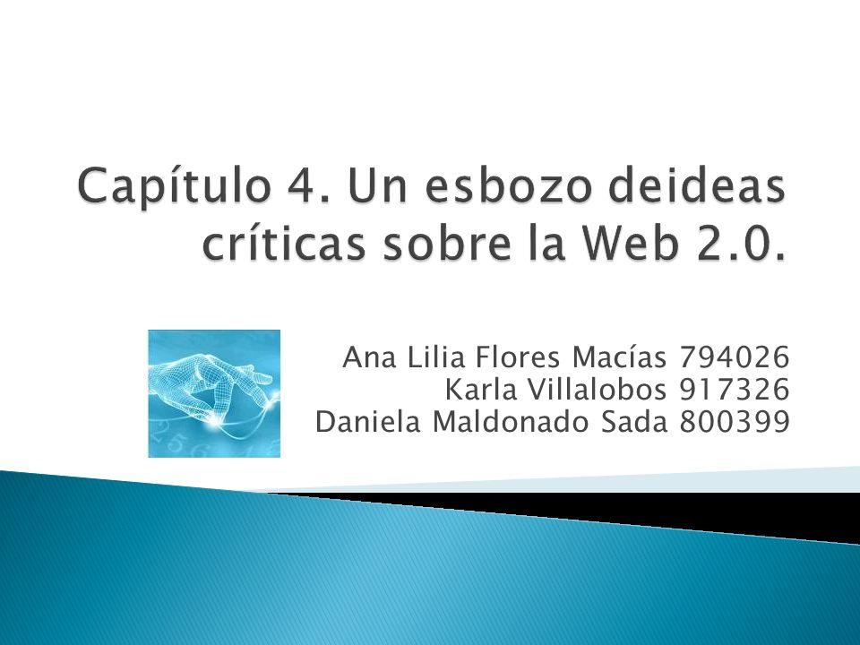 Las aplicaciones con plataforma en la Web promueven la participación del ciudadano que tiene algo para decir.