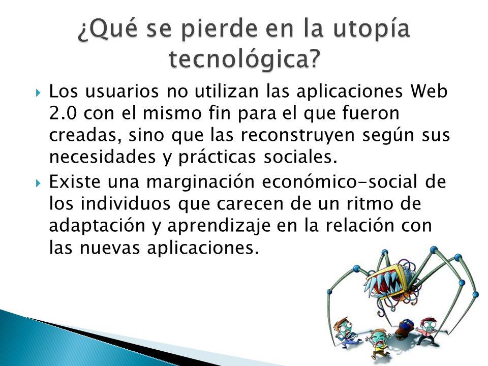 La aceleración productiva de los usos tecnológicos, excluye aún más a los ya excluidos de la generación anterior.