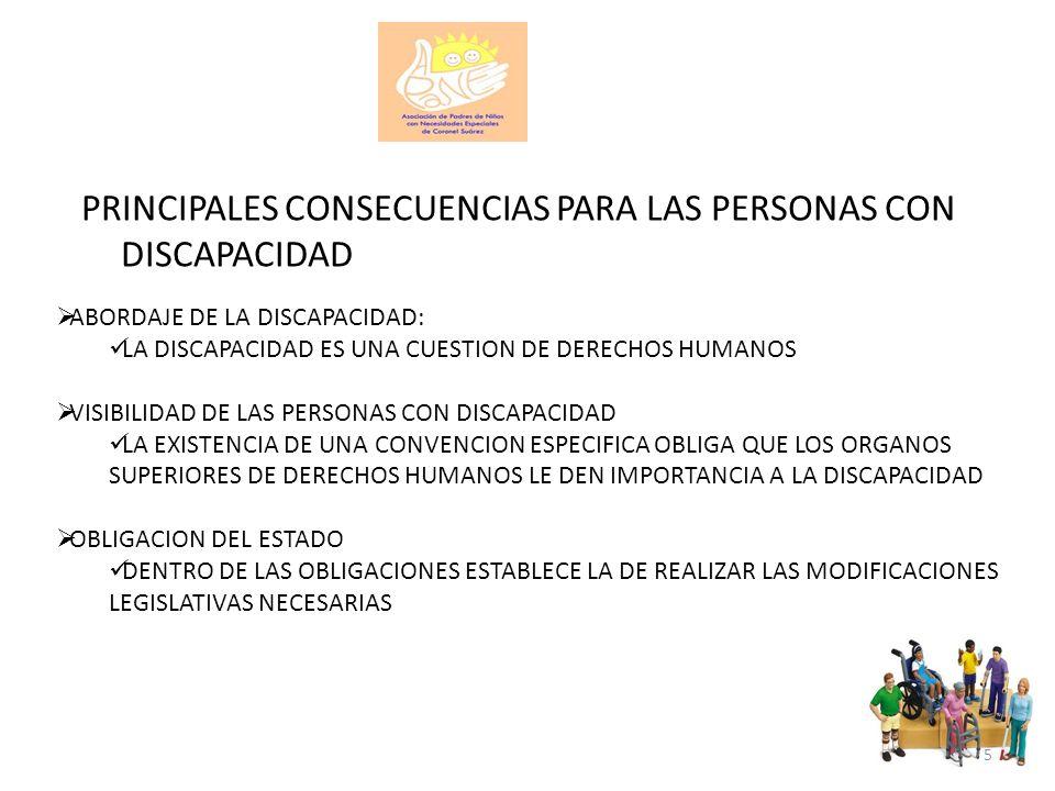 SITUACION Y PROTECCION DE DERECHOS DE GRUPOS EN SITUACION DE VULNERABILIDAD MUJERES Y NIÑOS Y NIÑAS CON DISCAPACIDAD DEDICA UN ARTICULO ESPECIFICO (VISIBILIDAD) ADOPTA UNA PERSPECTIVA DE TRANSVERSALIDAD A LO LARGO DE TODA LA CONVENCION 16