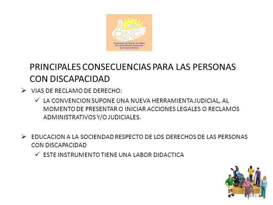 OBJETIVOS PROMOVER PROTEGER Y ASEGURAR EL GOCE PLENO Y EN CONDICIONES DE IGUALDAD DE TODOS LOS DERECHOS HUMANOS Y LIBERTADES FUNDAMENTALES POR TODAS LAS PERSONAS CON DISCAPACIDAD, Y PROMOVER EL RESPETO DE SU DIGNIDAD INHERENTE (ART.