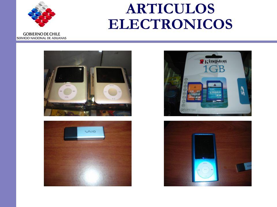 ARTICULOS ELECTRONICOS