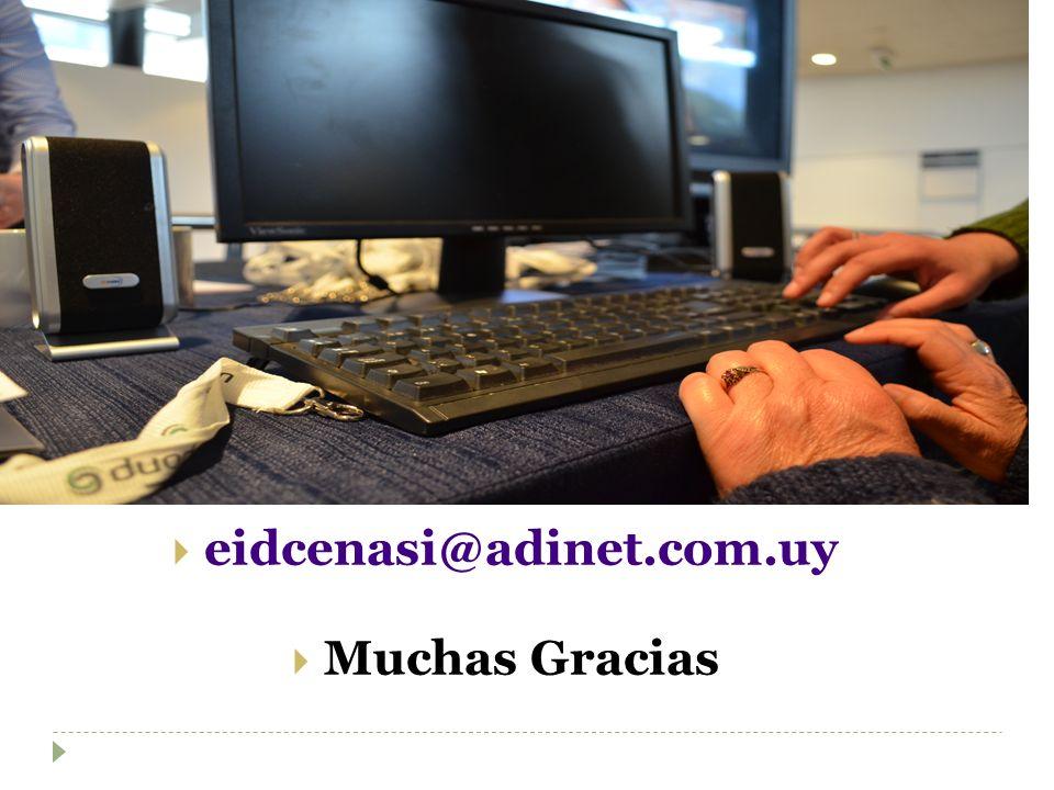 eidcenasi@adinet.com.uy Muchas Gracias