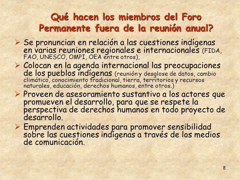 9 Indicadores y pueblos indígenas...