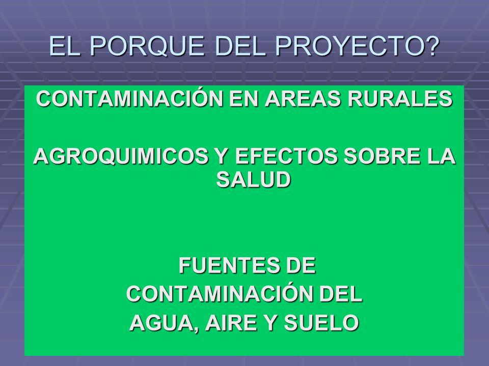 Estrategia: Estrategia: Introducción a conceptos de relación entre salud y ambiente en el ámbito rural.