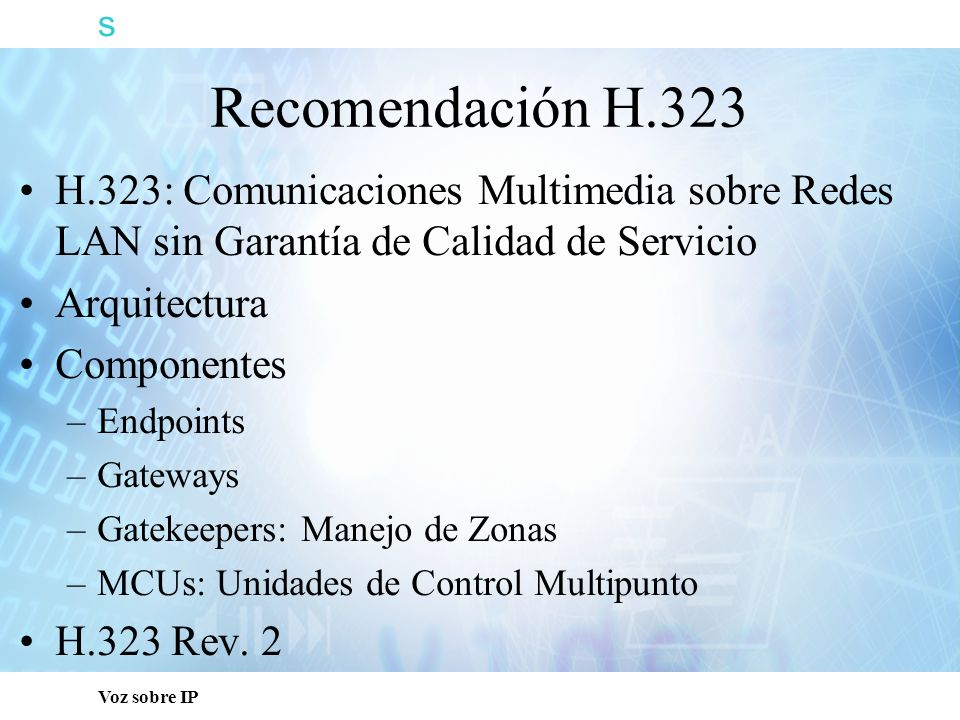 s Voz sobre IP T1 T2GK RTP MEDIA STREAM RTCP MESSAGES