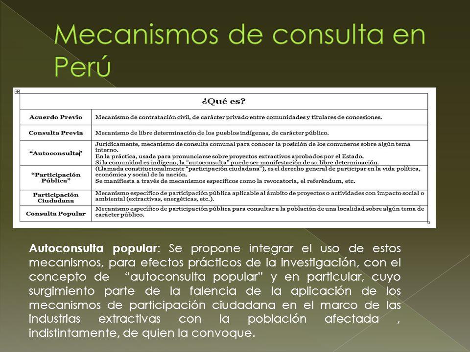 El contexto Latinoamericano indica que existen al menos un centenar de esto procesos que se han desarrollado en la última década y que la gente recurre frente a la imposición de los proyectos mineros.