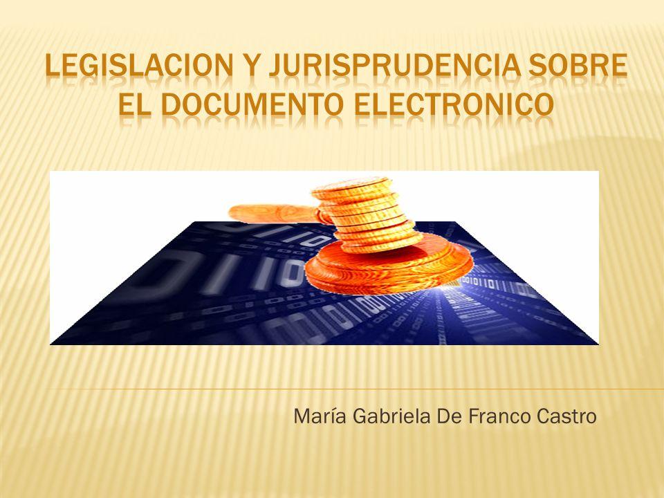 María Gabriela De Franco Castro