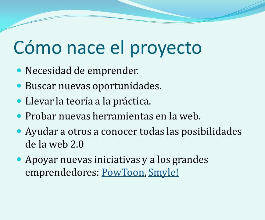 Cómo nace el proyecto Necesidad de emprender. Buscar nuevas oportunidades.