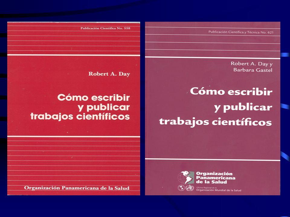 Escritura y Publicación de Artículos Biomédicos Autoría Todas las personas designadas como autores deben haber participado en el trabajo en grado suficiente para asumir responsabilidad pública por su contenido.