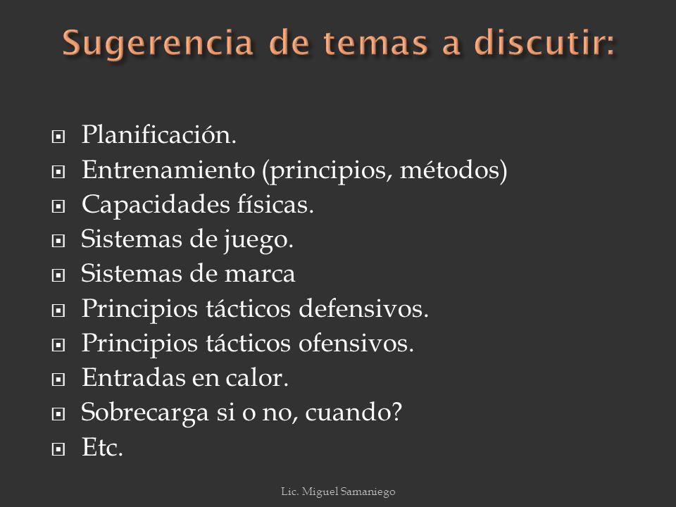 El Fútbol (entiéndase el >) deberá tener como núcleo director la dimensión táctica del juego porque es en ella y a través de ella que se consubstancian los comportamientos que ocurren durante un partido, Garganta (1997 cit.